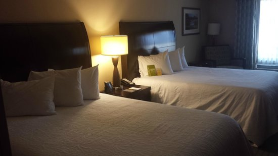 Hilton Garden Inn Jacksonville Downtown/Southbank: Cozy beds