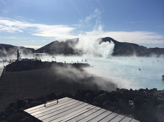 Blue Lagoon Iceland: The Blue Lagoon April