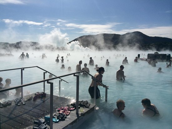 The Blue Lagoon April