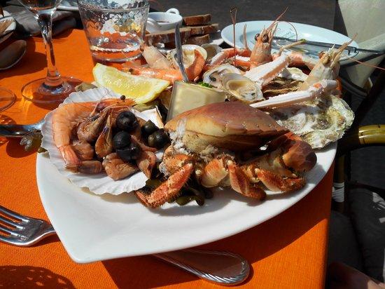 La Citadelle: belle assiette de fruits de mer pour 21€!