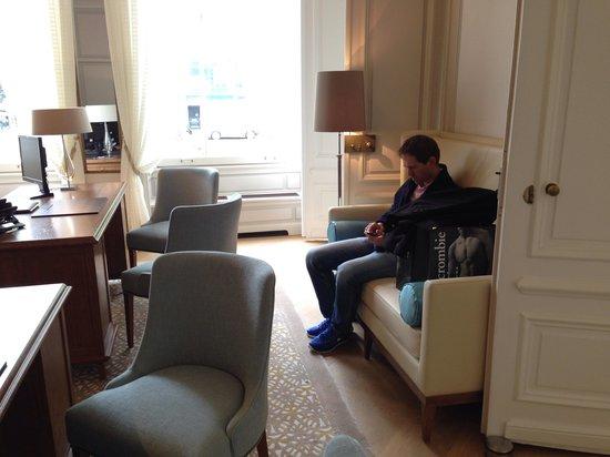 Waldorf Astoria Amsterdam: Receptie