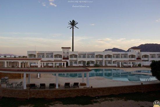 Swisscare Nuweiba Resort Hotel: Sinai Swisscare sunset