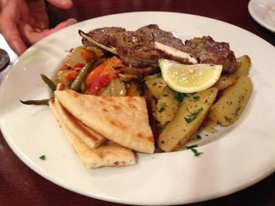 Samos Restaurant: Lamb Chop Plate