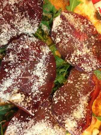 Ristorante Maison Jolie: Pizza