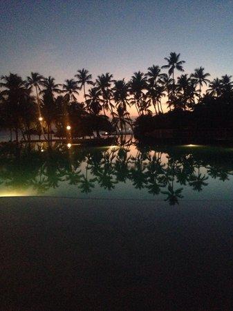 Dreams La Romana Resort & Spa : Tramonto piscina Infinity