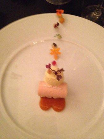 Goosefoot : Course 8: Guava Mouse Dessert
