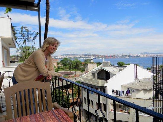 Marmara Guesthouse: Schöner _Ausblick von der Terrasse