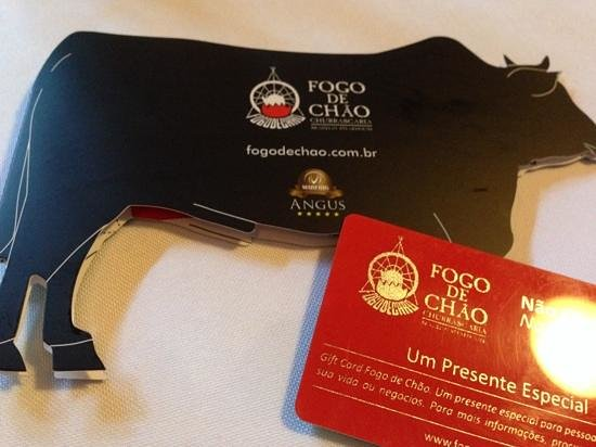 Fogo De Chao: interesting concept