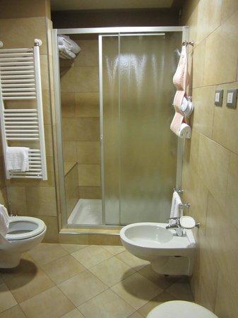 San Luca Palace Hotel : modern bath