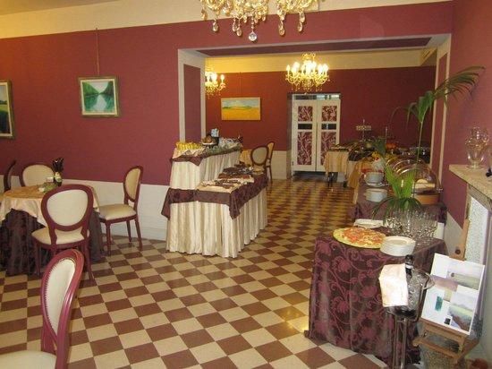 San Luca Palace Hotel: breakfast room