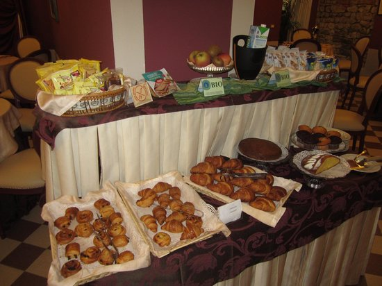 San Luca Palace Hotel : breakfast pastries