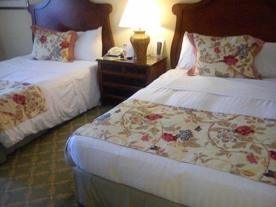 Denia Marriott La Sella Golf Resort & Spa : Una habitación amplia, dos camas de 1,40 y muy limpia