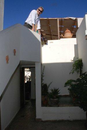 Riad le coq berbere : Terrazza