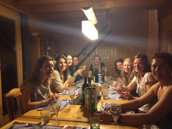 Chalet Tzigane : Happy ladies