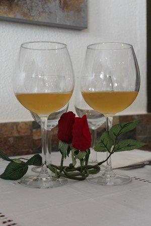 Restaurante Lua de Pedra: Sangria champanhe