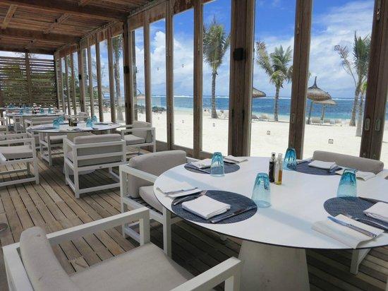 Long Beach Mauritius : 餐廳