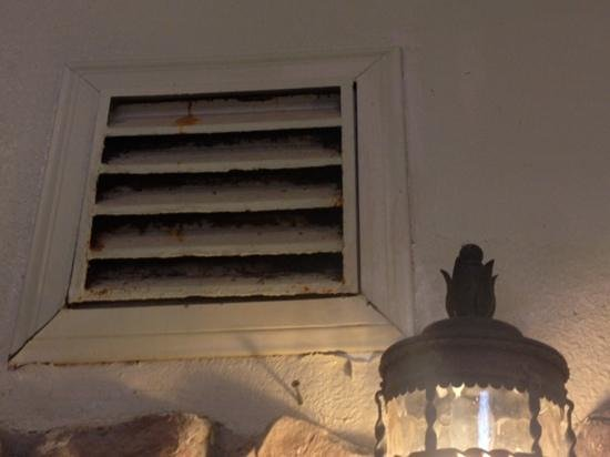 Holiday Inn Express Hotel & Suites - Marina: air vent rusts