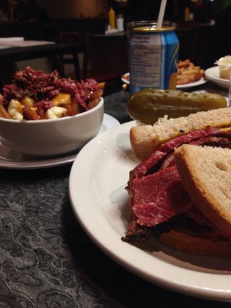 The Main Deli Steak House: Smoked Meat Sandwich