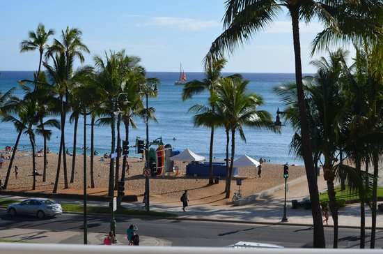 Park Shore Waikiki: from our balcony