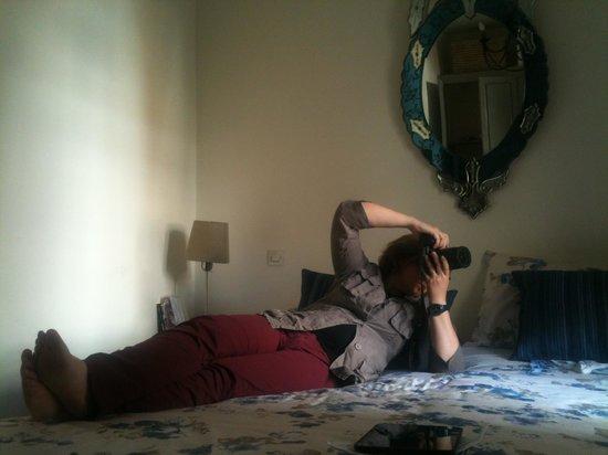"Riad le Coq Berbere: La ""nostra"" camera blu"