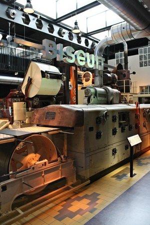 Zaans Museum & Verkade Experience: De oude machines.
