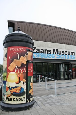 Zaans Museum & Verkade Experience: Ingang.