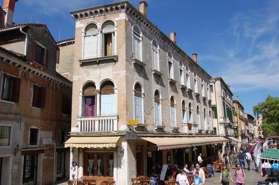 Ca' Gottardi: Nebengebäude mit den Suiten