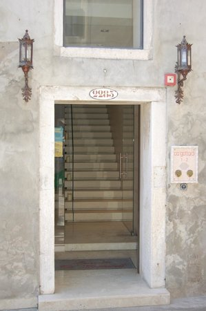 Ca' Gottardi: Hoteleingang