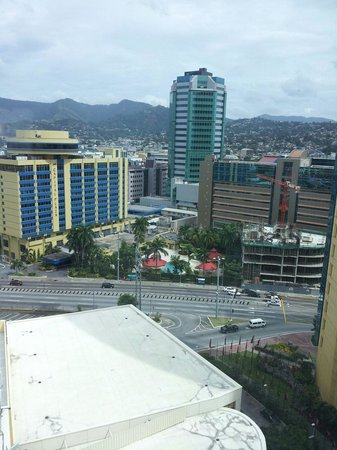Hyatt Regency Trinidad: View outside the window