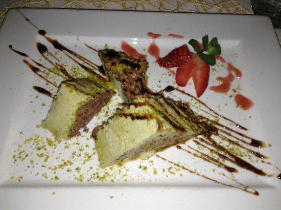 Belvedere dal 1933: фисташковый десерт
