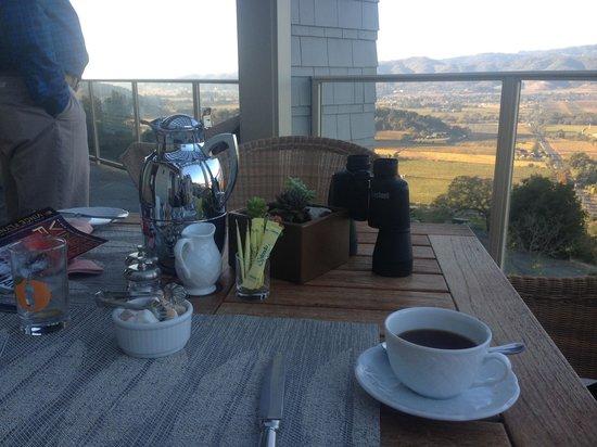 Poetry Inn : Breakfast view! Spectacular