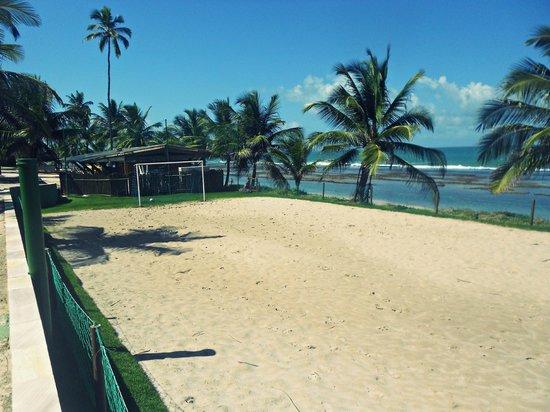 Summerville Beach Resort: área pra futebol de areia