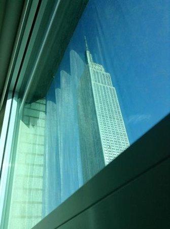 Courtyard New York Manhattan/Times Square : Minha janela em Manhattan!
