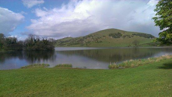 Lough Gur Visitor Centre: lake view