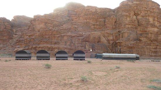 Bedouin Advisor Camp: the camp