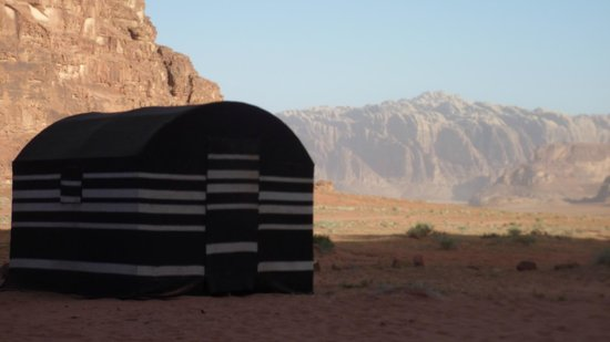 Bedouin Advisor Camp: our tent