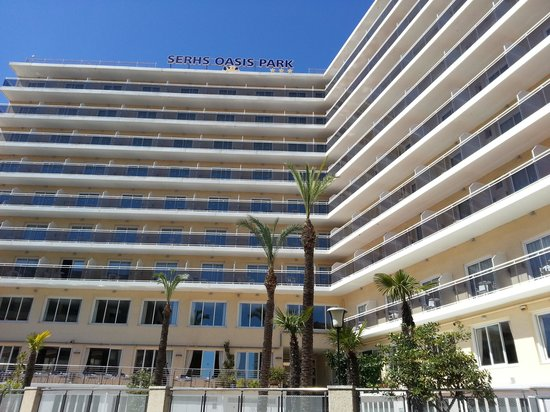 Hotel Oasis Park Splash : El Hotel