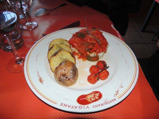 Restaurant Vigatane: prato de tomate