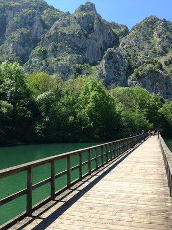 Centro Btt Valles del Oso: Puente del Pantano