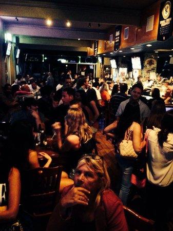 Toucan Bar & Grill: Saturday night