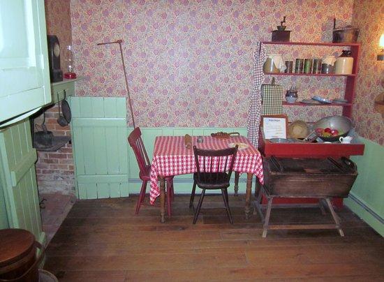 Jennie Wade House: The Kitchen Jennie Died In.