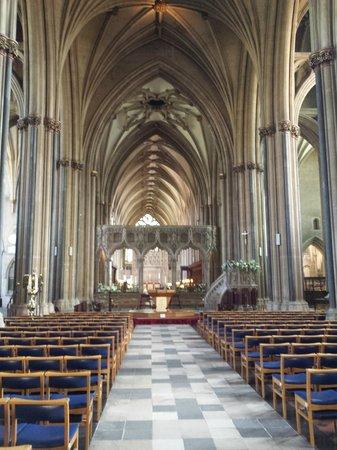 Bristol Cathedral: Vue intérieure