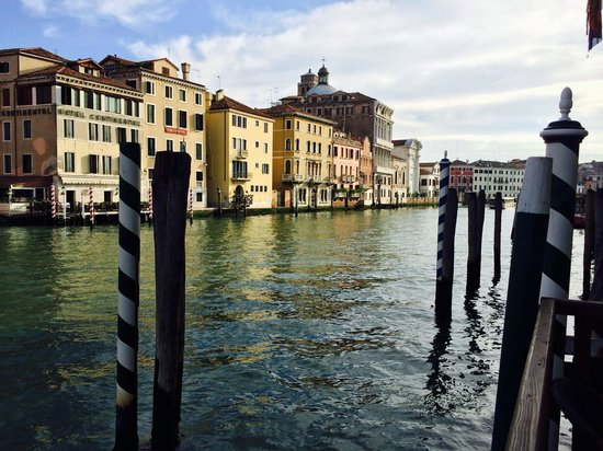Hotel Canal Grande: View from deck
