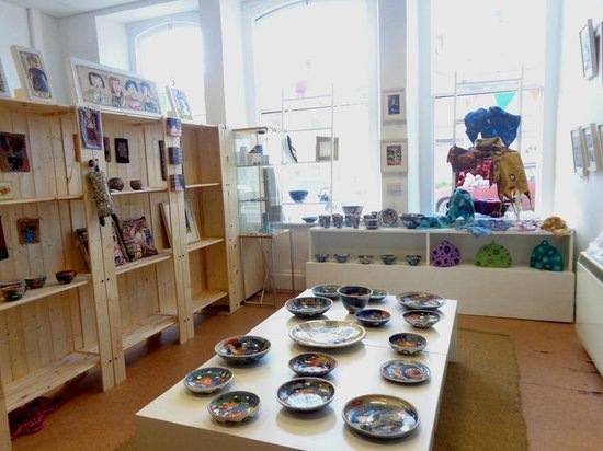 Makers Emporium: Light airy rooms