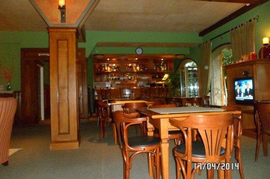 Quijote Hotel: Bar y sala de estar