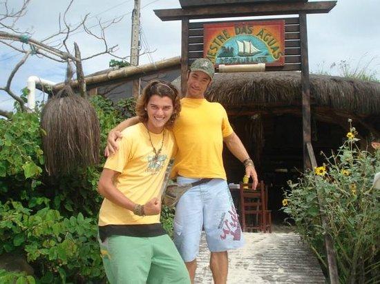 Mestre Das Aguas: Bruno y Marcos .... personas increibles