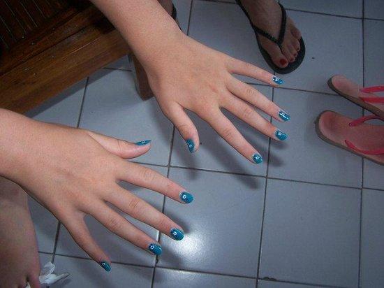 Hotel Puri Cendana: nice nails