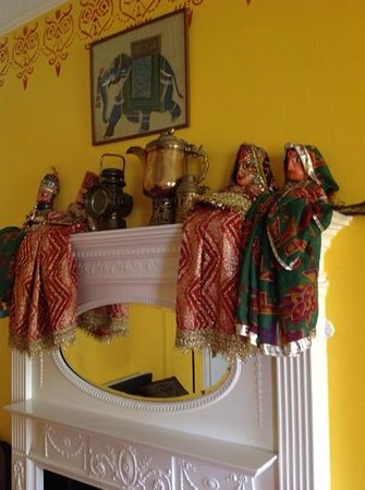 Court Colman Manor  indian themed room. indian themed room   Picture of Court Colman Manor  Bridgend