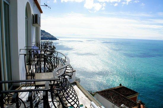 Hotel Villa Franca : Sur le balcon