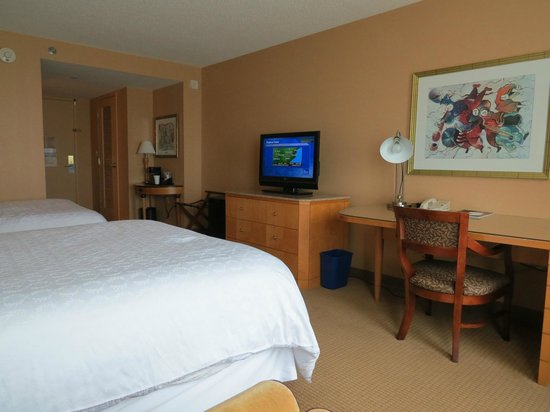 Sheraton Atlantic City Convention Center Hotel: View of Room #2